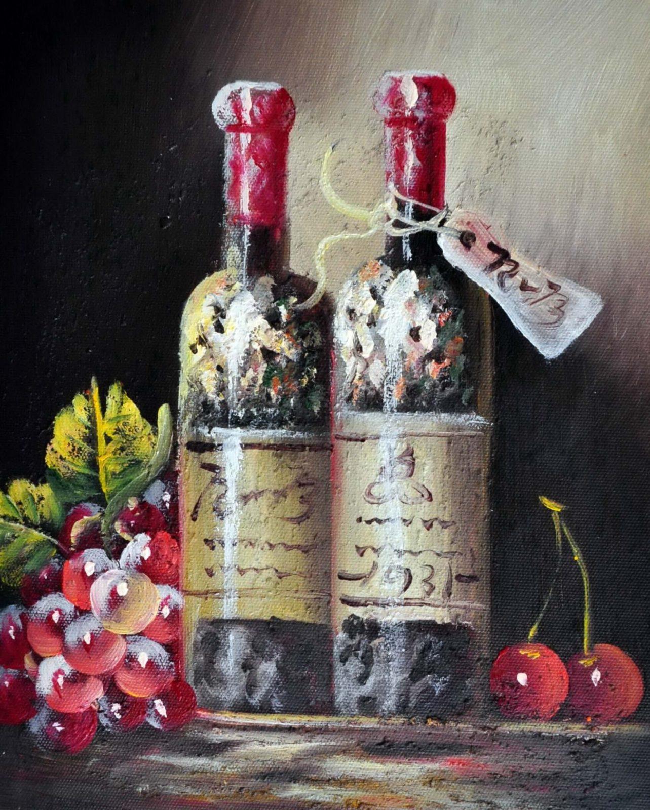 «Старое вино» картина 20х25 арт.2Е76