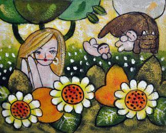«Материнство» картина 20х25 арт.2Е83