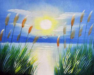 «Рассвет» картина 20х25 арт.2Е88