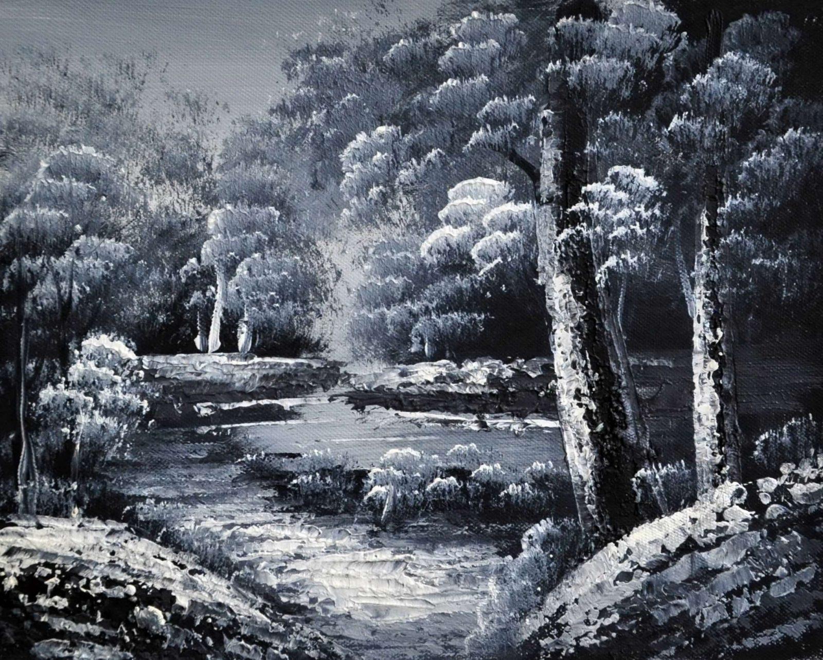 «В лесу» картина 20х25 арт.2Е105