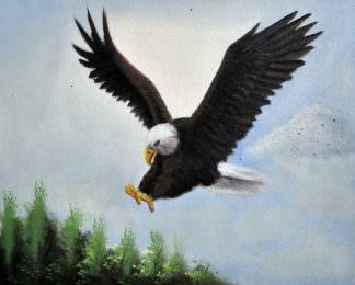 «Парящий» картина 20х25 арт.2Е107