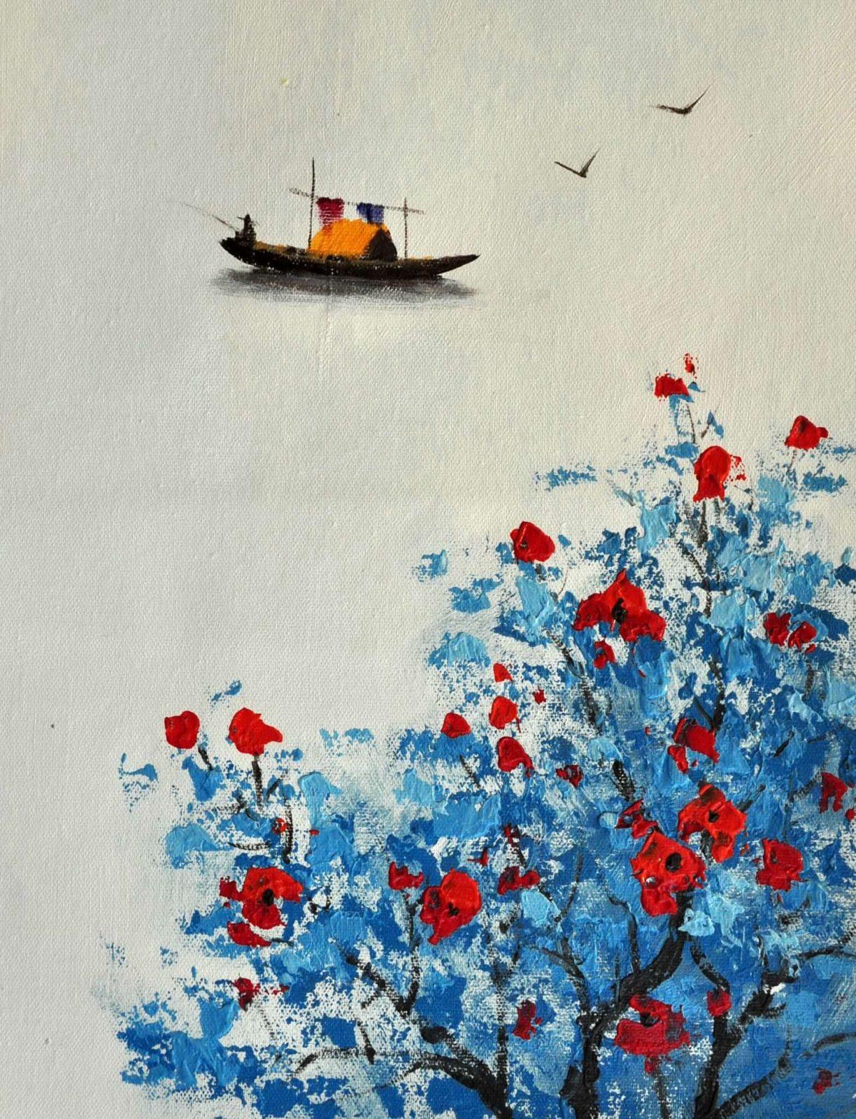 «Минималистичный пейзаж» картина 30х40 арт.3Р15