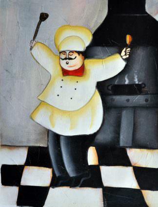 «Веселый повар» картина 30х40 арт.3Р16