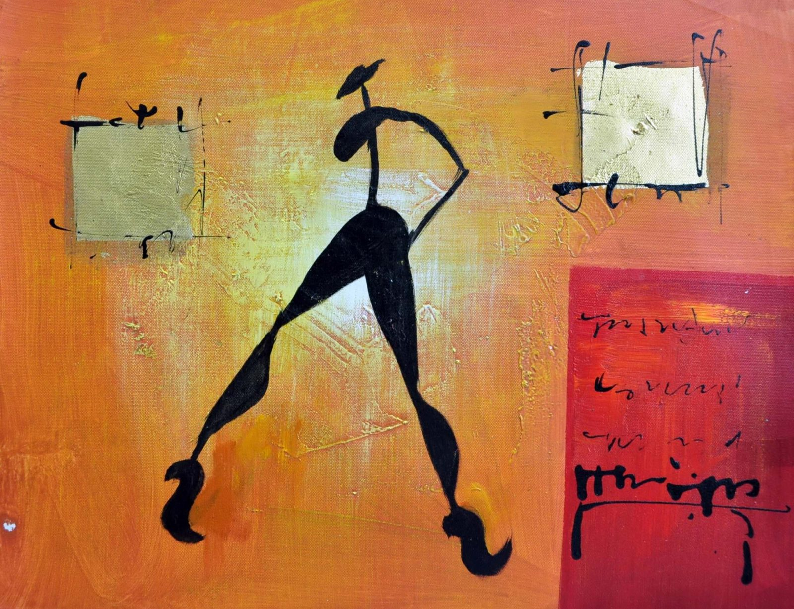 «Абстракция» картина 30х40 арт.3Р31