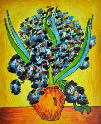 «Ирисы Ван Гога» картина 50х60 арт. 5Р14