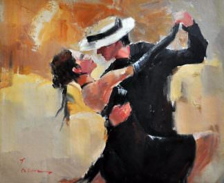 «Аргентинское танго» картина 50х60 арт. 5Р43