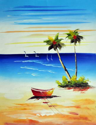 «Песчаный берег» картина 30х40 арт.3С1