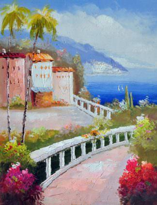 «Средиземноморье» картина 30х40 арт.3С15