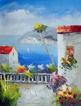 «Средиземноморье» картина 30х40 арт.3С16