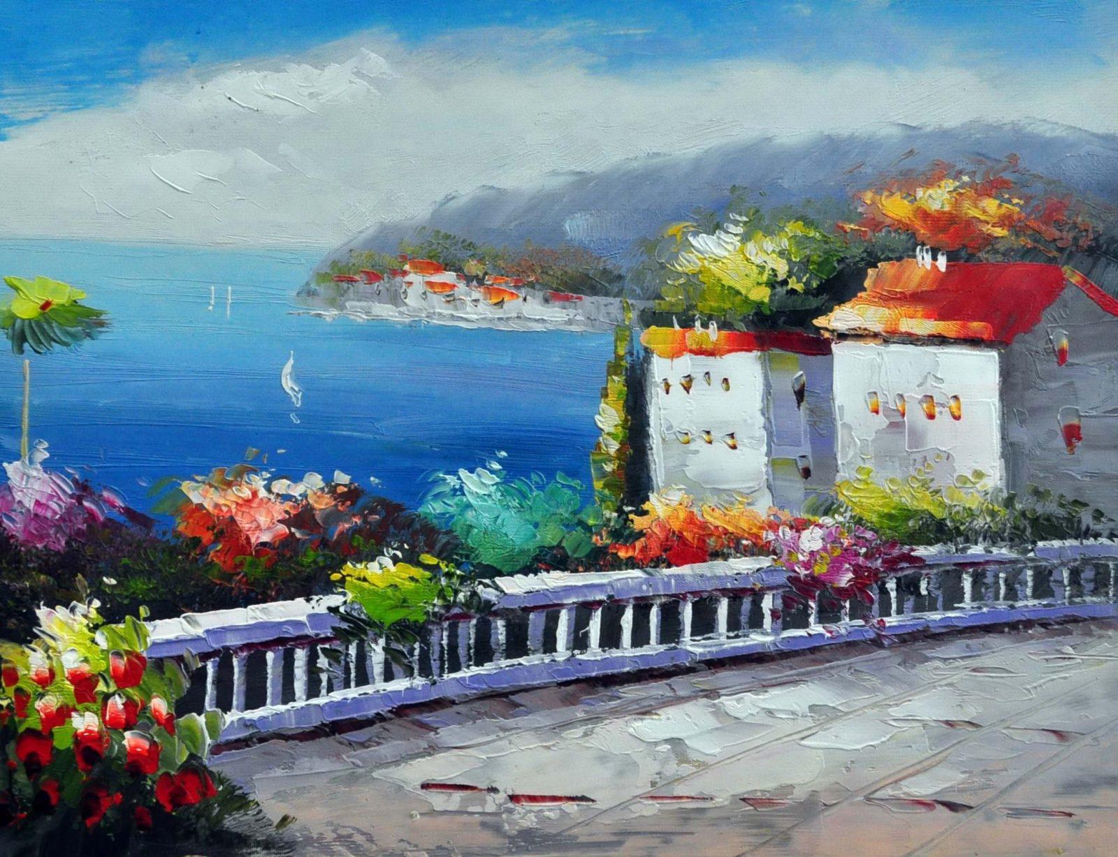 «Средиземноморье» картина 30х40 арт.3С26