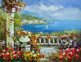 «Средиземноморье» картина 30х40 арт.3С31