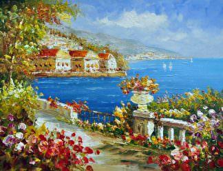 «Средиземноморье» картина 30х40 арт.3С33