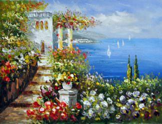 «Средиземноморье»  картина 30х40 арт.3С43