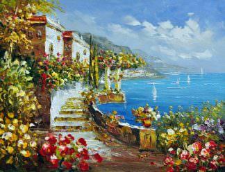 «Средиземноморье» картина 30х40 арт.3С45