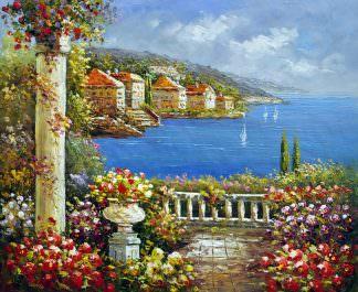 «Средиземноморье» картина 50х60 арт. 5С16