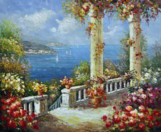 «Средиземноморье» картина 50х60 арт. 5С19