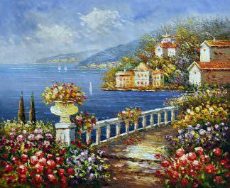 «Средиземноморье» картина 50х60 арт. 5С20
