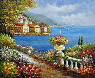 «Средиземноморье» картина 50х60 арт. 5С22