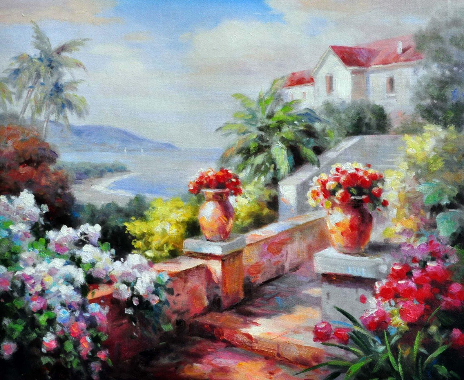 «Солнечный день» картина 50х60 арт. 5С34