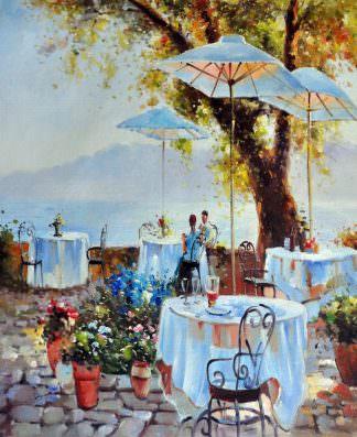 «Жаркий полдень» картина 50х60 арт. 5С36