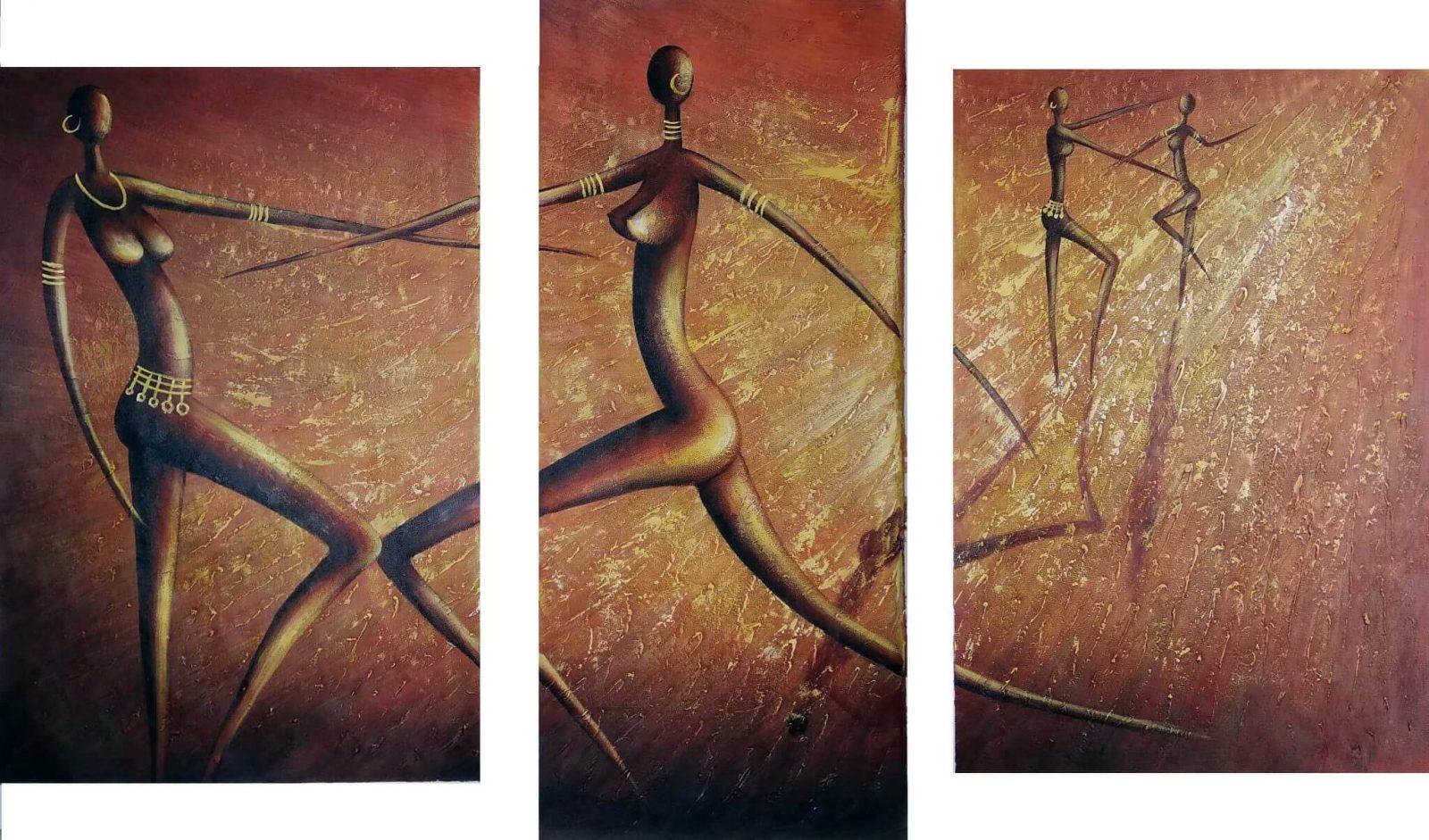 """Картины """"Танец солнца"""" 130Х70 примерный размер"""