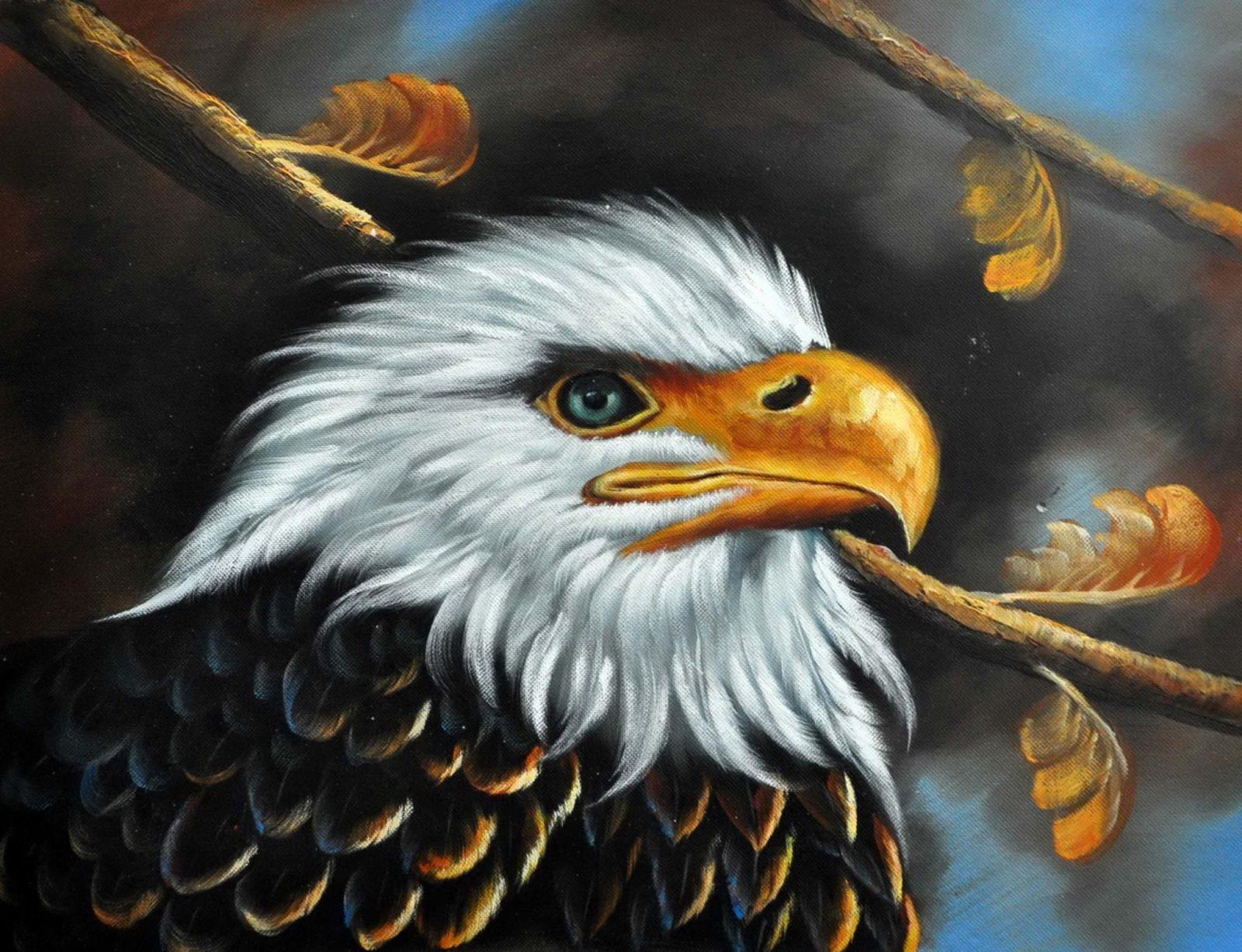 «Орел» картина 30х40 арт. 3А5