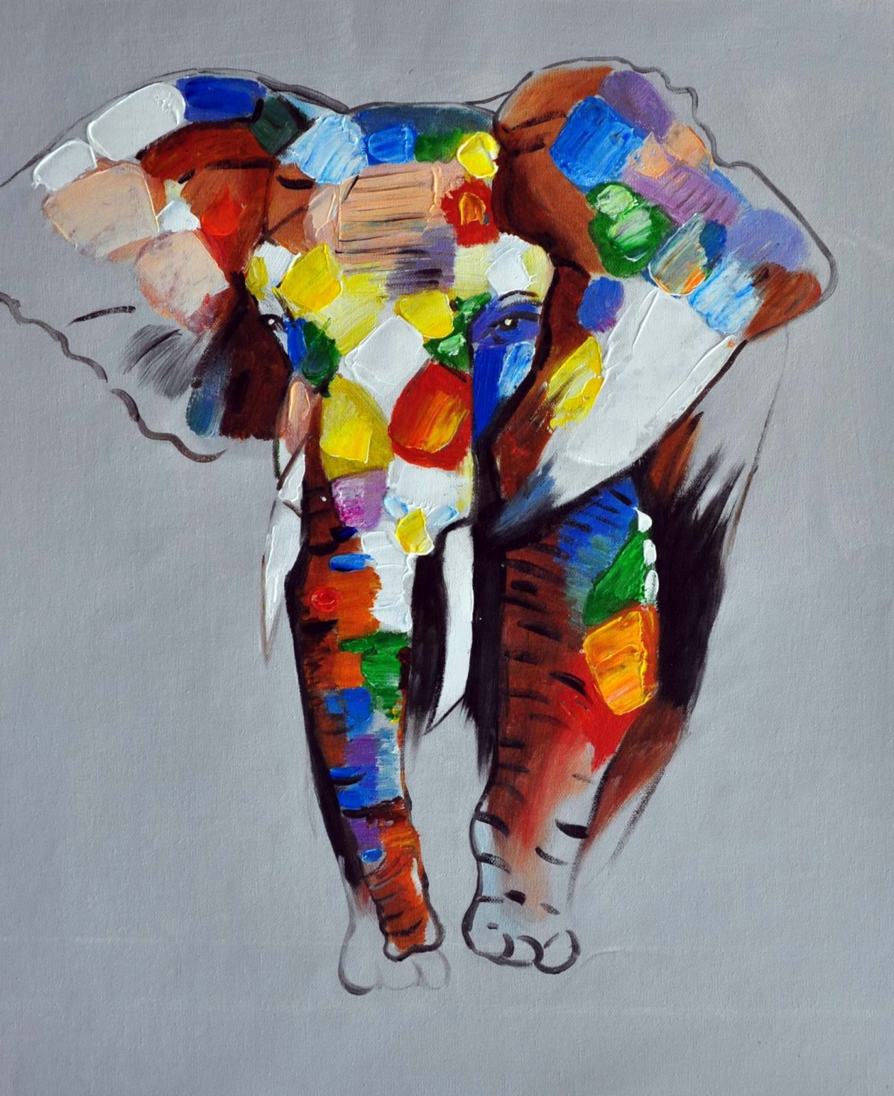 «Слон» картина 50х60 арт. 5A13