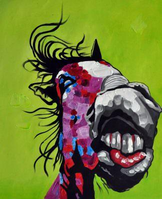 «Лошадь» картина 50х60 арт. 5A16