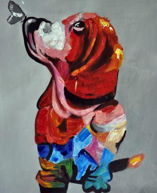 «Пёс» картина 50х60 арт. 5A17
