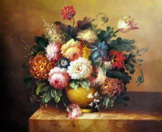 «Цветы» картина 50х60 арт.Ц155
