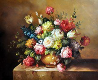 «Цветы» картина 50х60 арт.Ц156