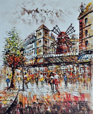 «Город» картина 50х60 арт.5ГР80