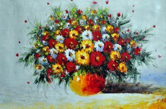 «Полевые цветы» картина 60х90 арт.9Ц41