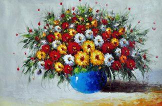 «Полевые цветы» картина 60х90 арт.9Ц42