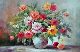 «Букет на столе» картина 60х90 арт.9Ц48