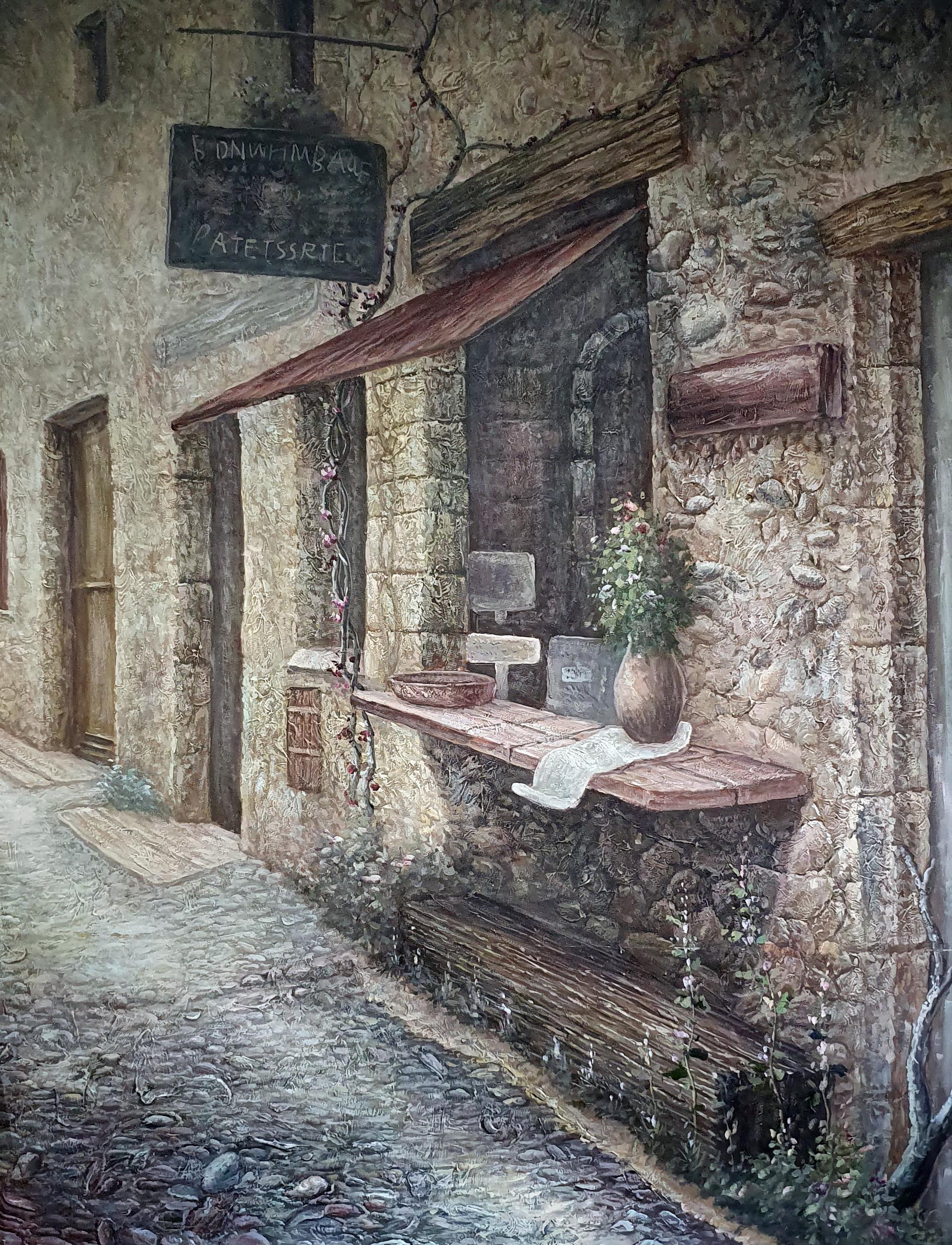 """The street""картина 90х120"