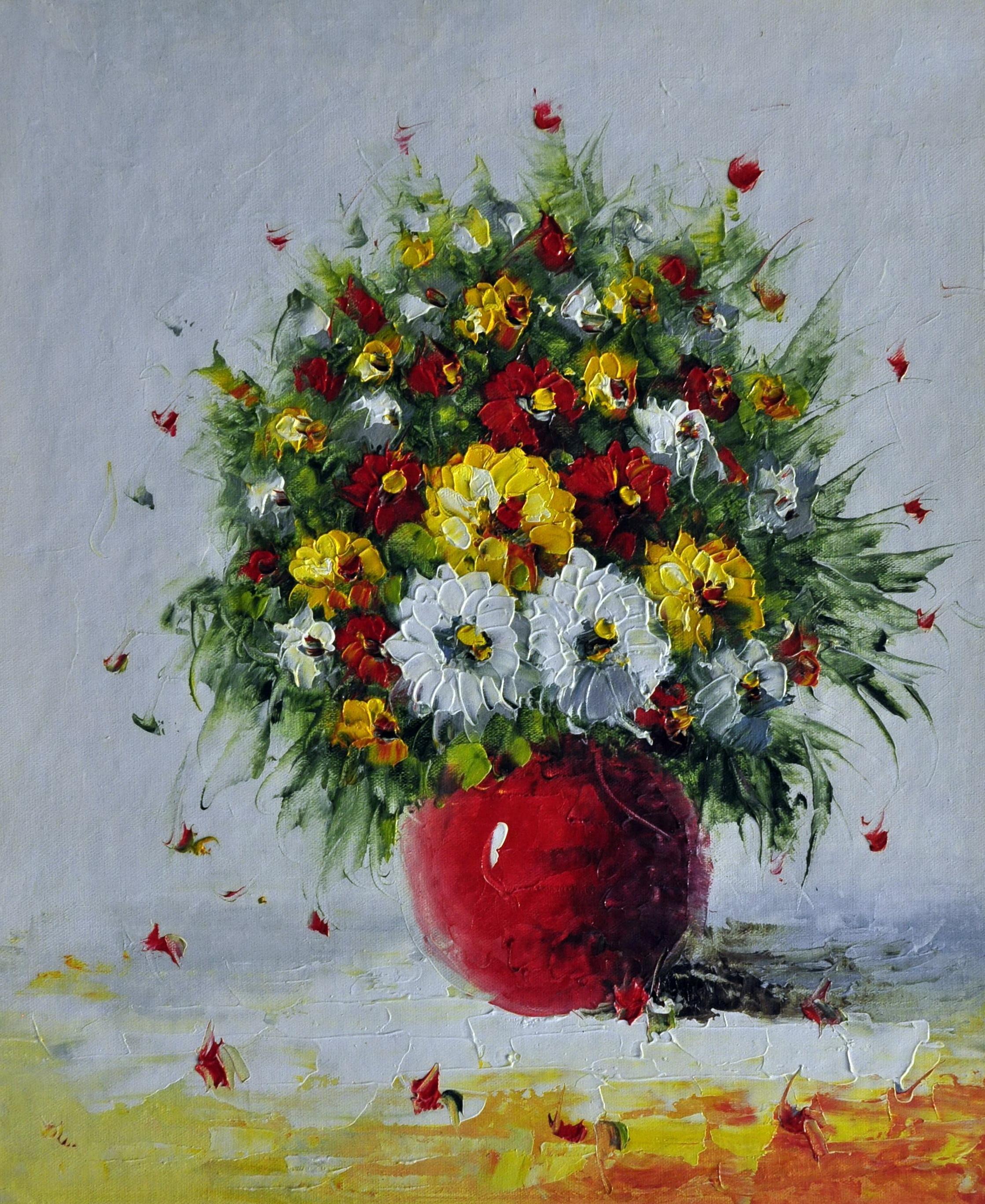 «Полевые цветы» картина 50х60 арт.5Ц165