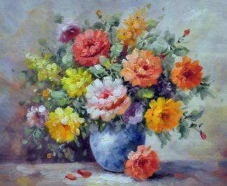 «Розы в вазе» картина 50х60 арт.5Ц171