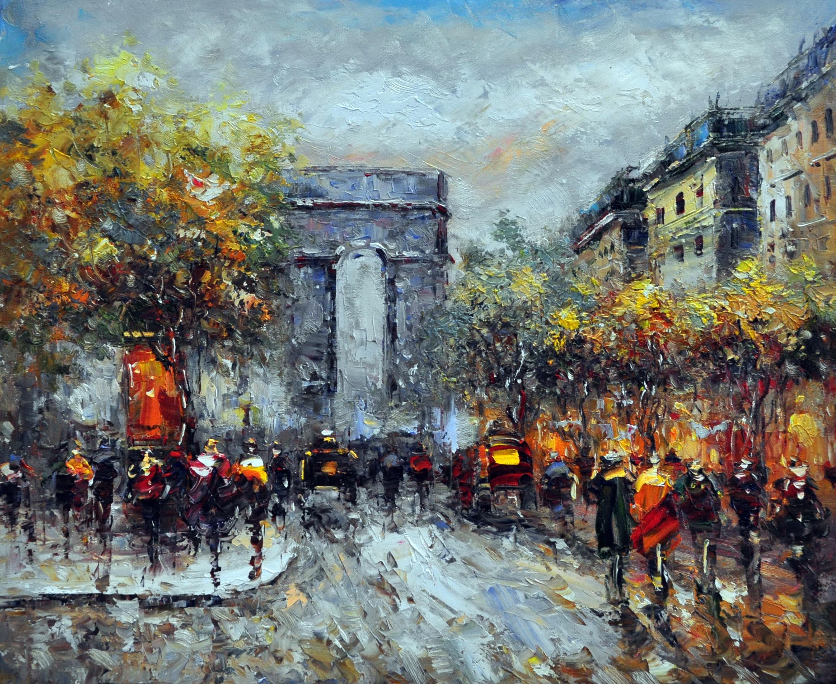 «Триумфальная арка» картина 50х60 арт.5ГР127