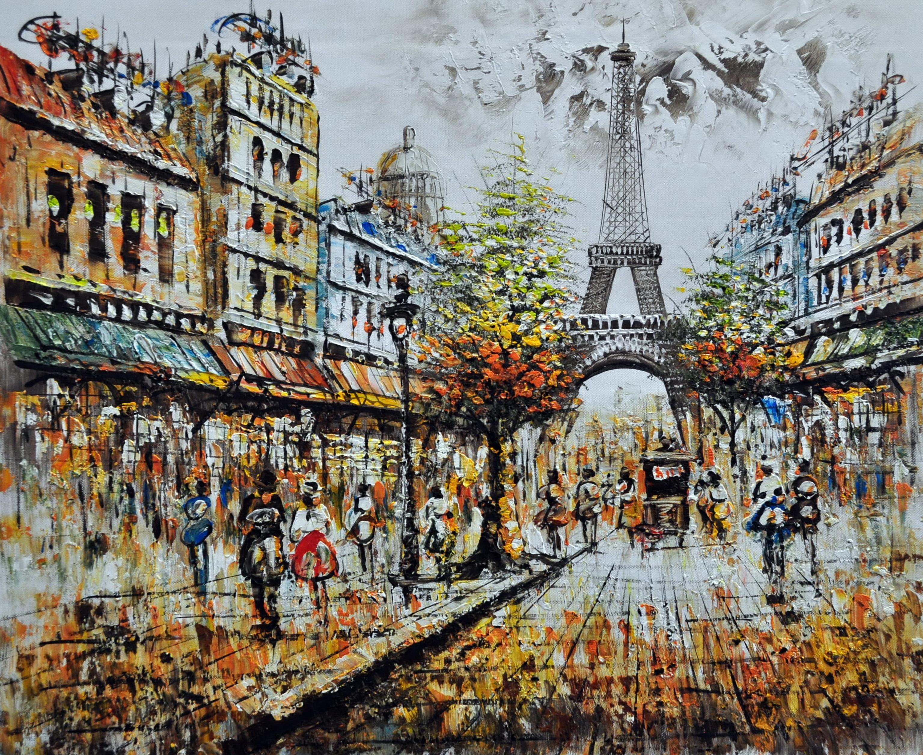 «Эйфелева башня» картина 50х60 арт.5ГР138