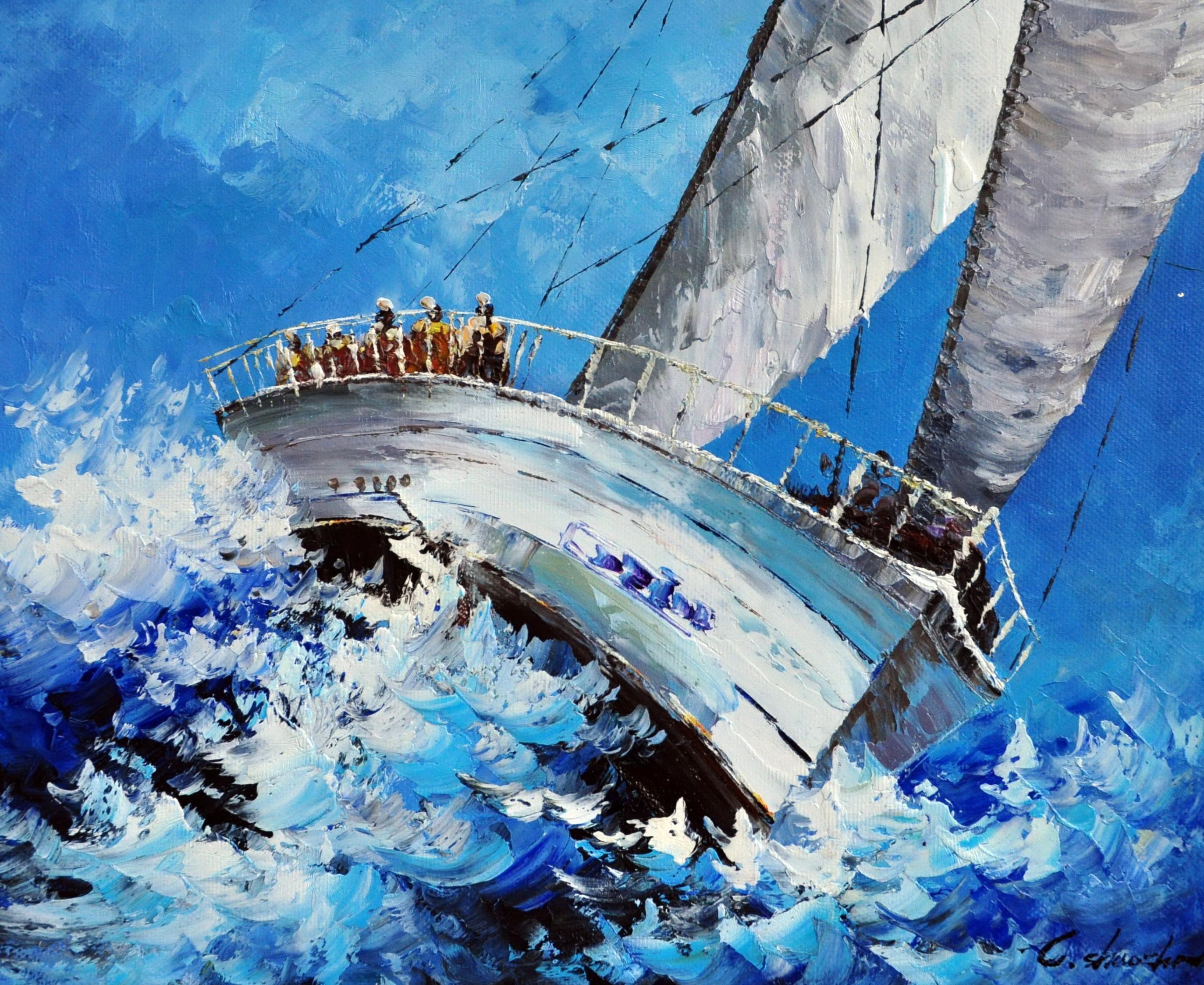 «Регата» картина 50х60 арт.5Л064