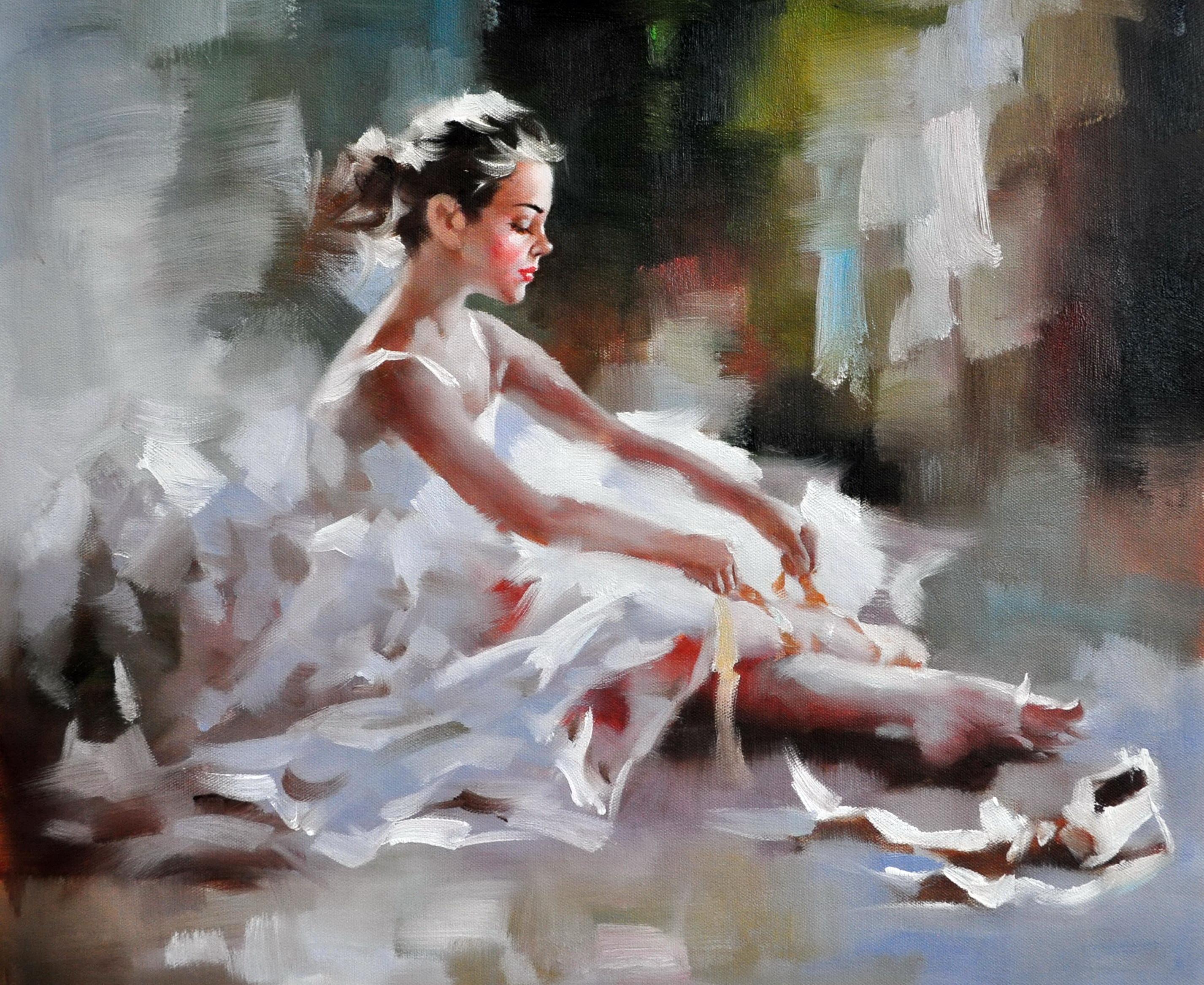 «Балерина» картина 50х60 арт.5Р068