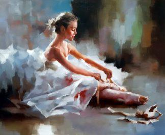 «Пуанты» картина 50х60 арт. 5Р136