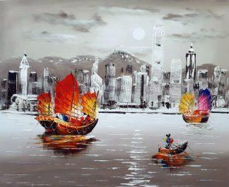 «Гонконг» картина  50х60 арт.5Г213