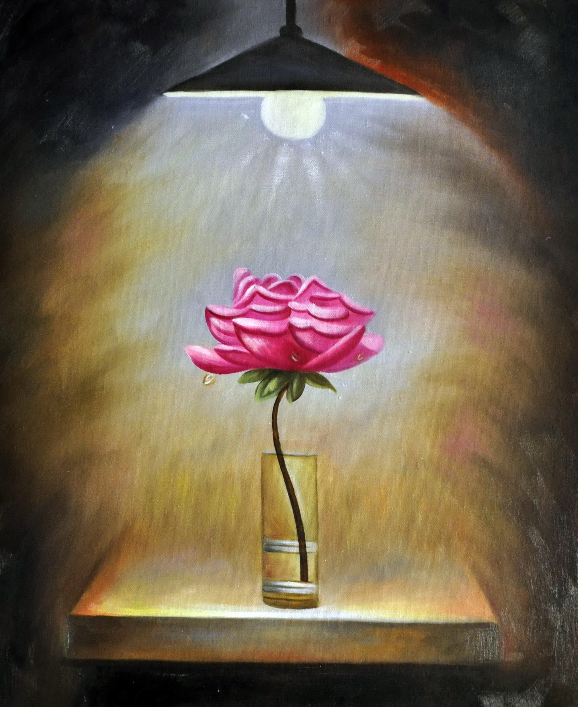 «Роза» картина  50х60 арт.5Ц181