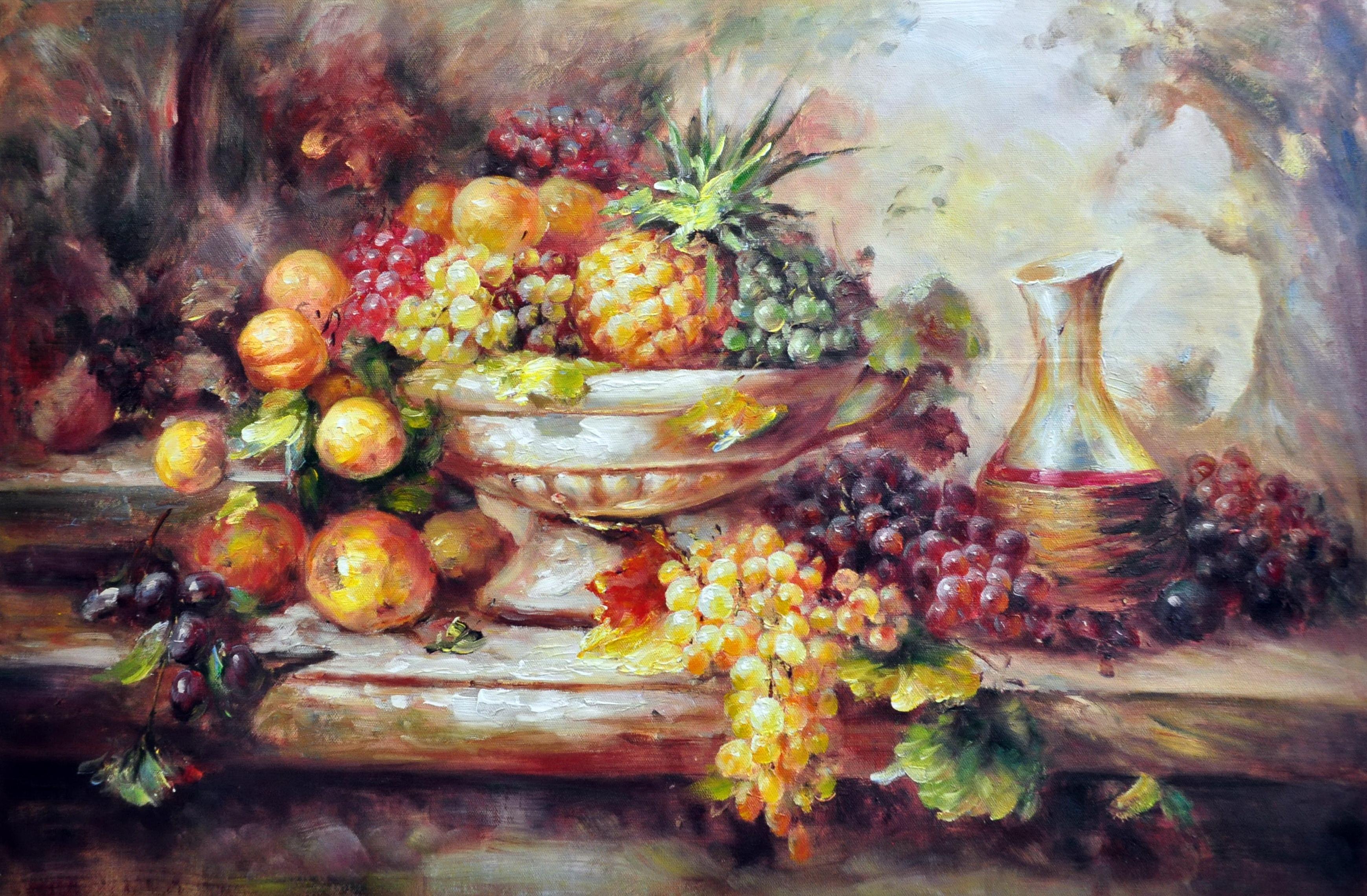 «Ваза с фруктами» картина  60х90 арт.9Ц061
