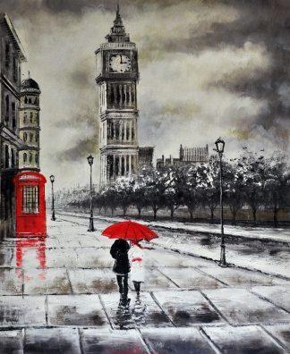 «Лондон» картина  50х60 арт.5ГР151