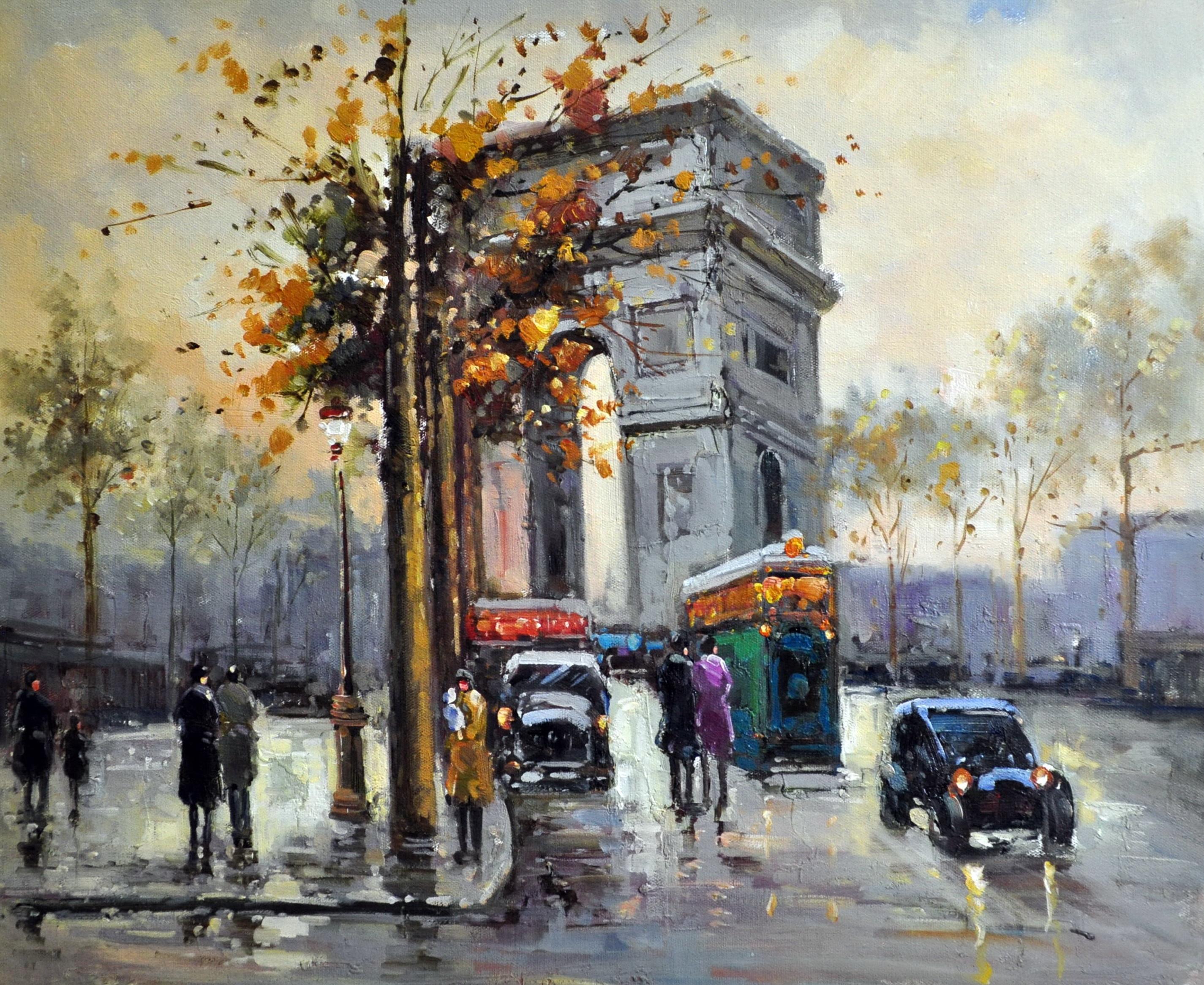 «Триумфальная арка» картина  50х60 арт.5ГР152