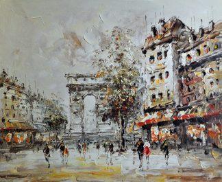 «Париж» картина  50х60 арт.5ГР157