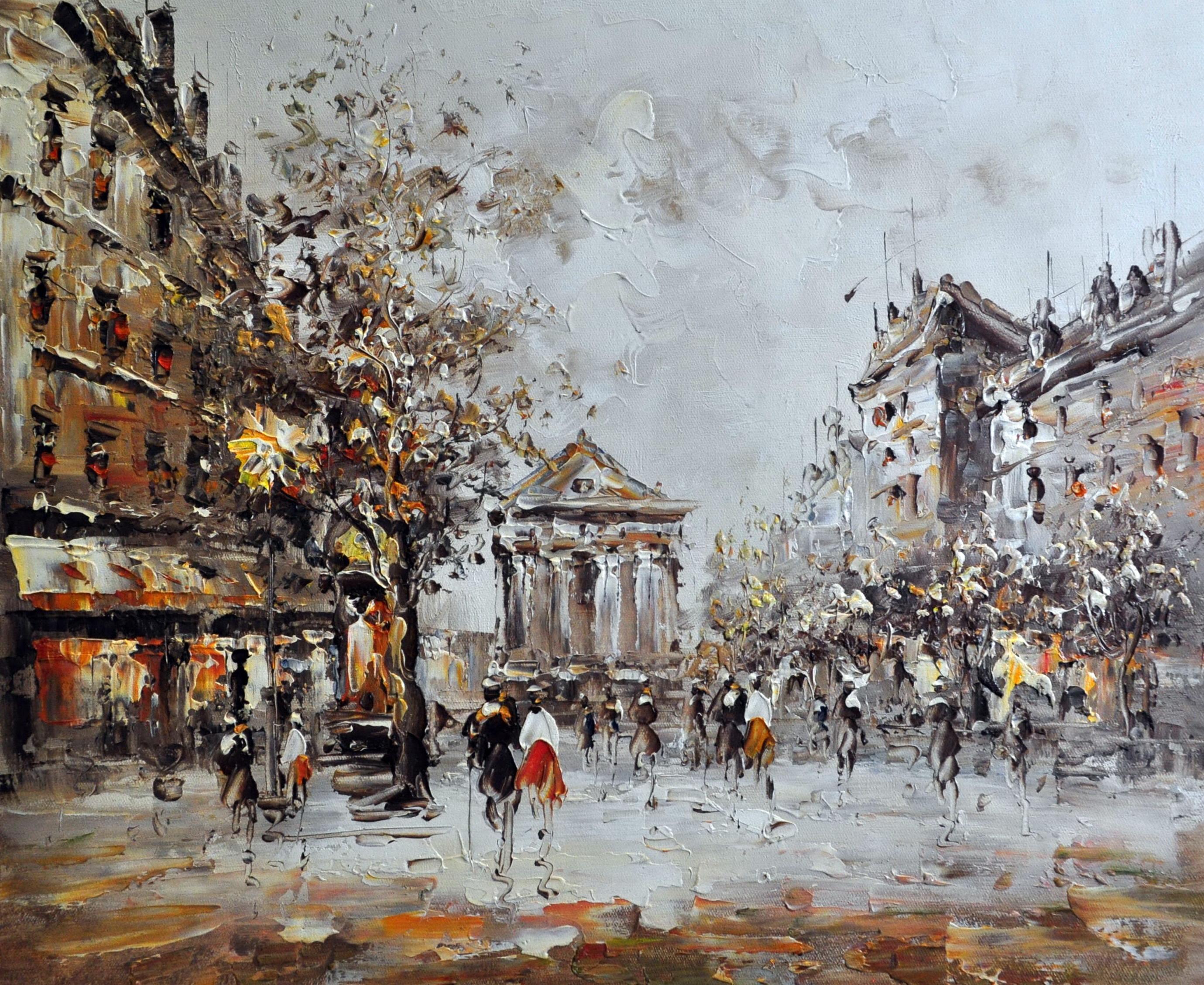 «Париж» картина  50х60 арт.5ГР158